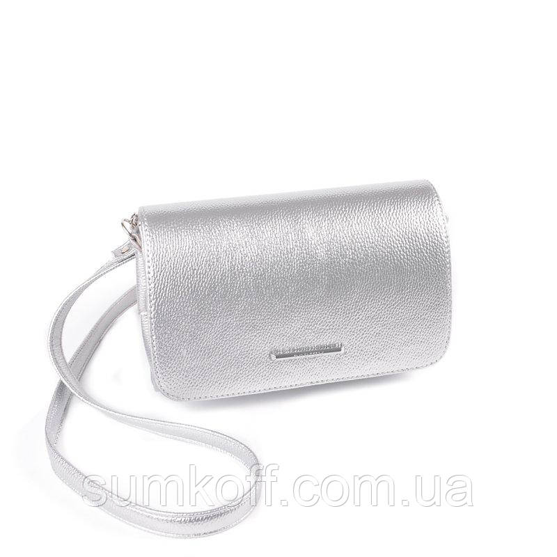 9fc246dd30de Серебристая маленькая сумка клатч через плечо: продажа, цена в ...