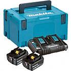Набор аккумуляторов LXT Makita BL1850B 18 В (197629-2)