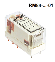 Реле RM84 Relpol с прозрачным корпусом