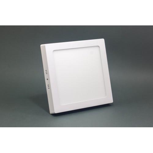 Светильник ЛЕД 12Вт накладной квадрат 4200К LED точечный ЕВРОСВЕТ
