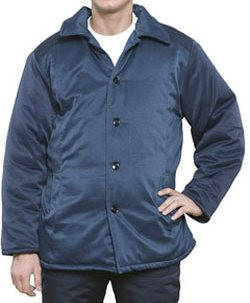 Куртка зимняя ватная синяя, фото 2