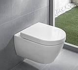 Унитаз Villeroy&Boch Verity Design 5671H101 с крышкой Soft-Close, фото 2