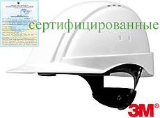 Каска будівельна захисна біла 3М США 3M-KAS-SOL2000N W