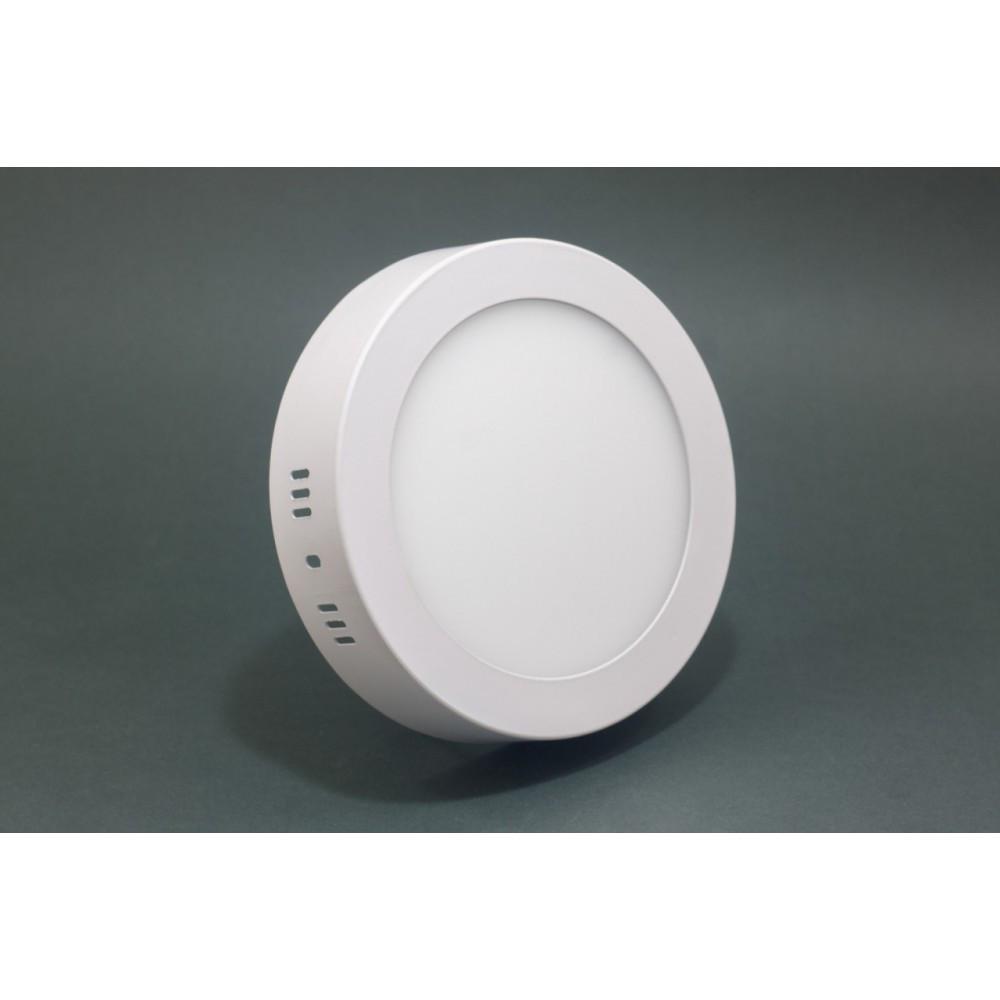 Светильник ЛЕД 24Вт накладной круг 6400К LED точечный