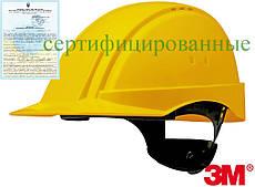 Каска будівельна захисна жовта 3М США 3M-KAS-SOL2000N Y