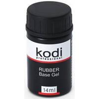 База  для гель лака каучуковая  Kodi Rubber Base Gel, 14 мл