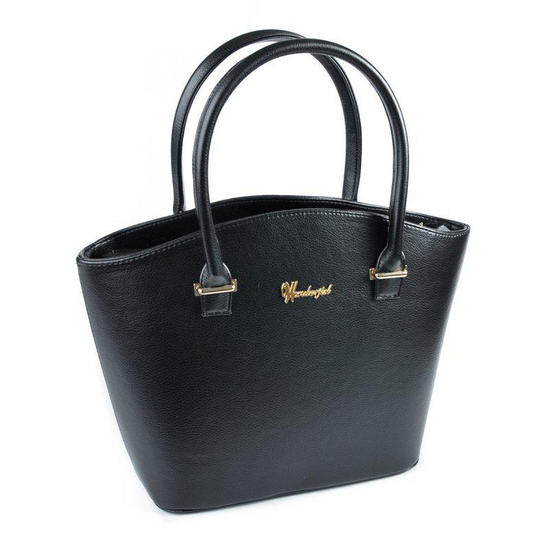 a2a3eccf2637 Сумка женская корзинка черная глянцевая на плечо - Интернет магазин сумок  SUMKOFF - женские и мужские