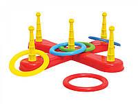 """Развивающая игрушка - Игровой набор """"Кольцеброс"""""""