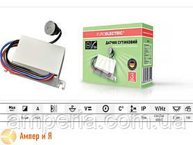 Сутінковий вимикач «Універсальний» 25А EUROELECTRIC, фото 3