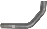 Труба средняя (выхлопная система) грузового автомобиля MAN 2