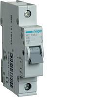 Модульный автоматический выключатель 1P 6кА С-6A 1М Hager
