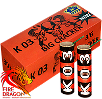 Петарды Big Cracker К03 30 штук в упаковке