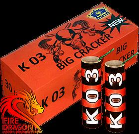 Петарди К03 (аналог Mega Piratka P2000) 30 штук в упаковці