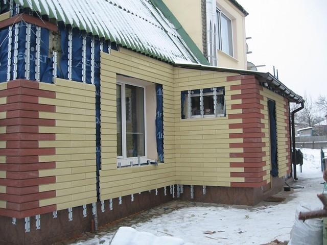 Облицювання фасадів Сканроком (навісний вентильований фасад)