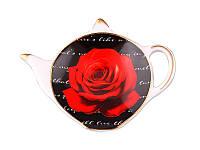 """Подставка под чайный пакетик """"Роза"""" 8 см."""