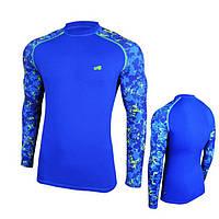 Компрессионная спортивная кофта Radical Furious II LS, мужской рашгард, футболка с длинным рукавом