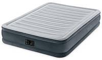 Надувная двуспальная высокая кровать INTEX 64140, 203х152х51см