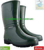 Резиновые сапоги женские (рабочая резиновая обувь) DEMAR Польша BDRAINNY Z