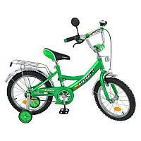 Велосипед детский 14 дюймов P 1442 зеленый