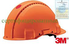 Каска будівельна захисна орнжевая 3M-KAS-SOLARISN P