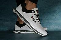 Кроссовки мужские кожаные Adidas белые