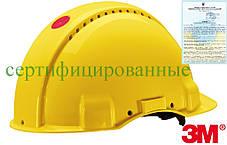 Каска будівельна захисна жовта 3M-KAS-SOLARISN Y