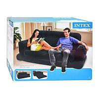 Велюр диван 68566 раскладной диван для двоих, 193-231-71см, флоковое покрытие, 37-46-23см