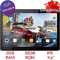 """ϞИгровой планшет 9.6"""" ASUS Tab A10 2/32 GB Черный IPS экран 8 ядер MTK6580 GPS 3G Android 6.0 2 SIM"""