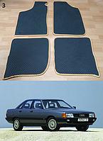 Коврики на Audi 100 (С3) '82-91. Автоковрики EVA, фото 1