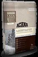 Сухой корм против ожирения для взрослых собак всех пород ACANA Light & Fit 11.4 кг