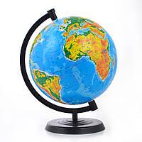 Глобус физический 260 мм, украинский