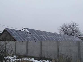 домашняя сетевая солнечная электростанция под зеленый тариф 33,6 кВт Апостолово