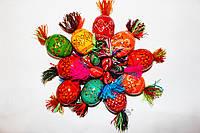 Писанки декоративные разноцветные в связке из 10 шт (перепилиные)