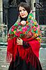 Павлопосадский платок Джиорджина, фото 4