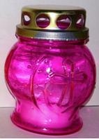 Лампадка стеклянная 8-01 (28шт/в упаковке)