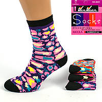Махровые женские носки M-02-01 Z. В упаковке 12 пар
