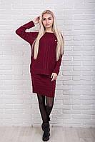 Костюм женский вязаный кофта и юбка p.44-48 AR37510-5
