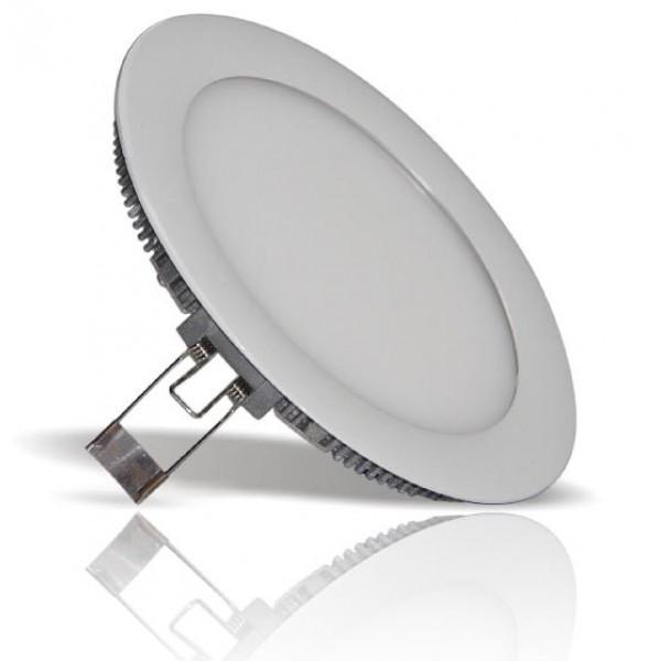 Светильник ЛЕД 12Вт врезной круг 6400К LED точечный