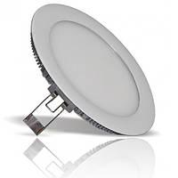 Светильник ЛЕД 12Вт врезной круг 6400К LED точечный, фото 1