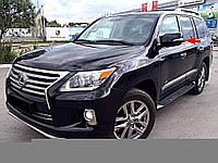 Рестайлинговые заменяемые крышки с поворотами Toyota LC 200 2007-2011 / Lexus LX 570 2007-2011 модель Lexus LX 2012+ цвет белый перламутр