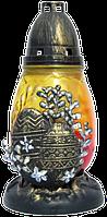 Лампада Позолоченый крест 36-36 (6 шт/в упаковке)
