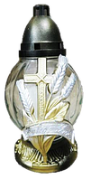 Лампада Крест(три колоска) 36П-37 (6 шт/в упаковке)