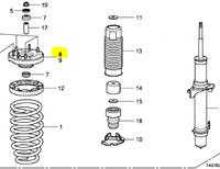 Honda 51676TA0A02 Опора аморт пер левая Accord 08-12