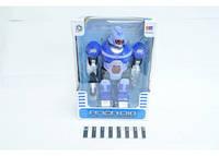 Робот ( свет. и муз. эффект., коробка) KD8803C р.20х11х28 см. см.
