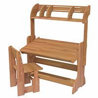 Дитяча парта і стілець з полків, 90 см, фото 1