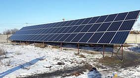 Апостолово солнечная электростанция сетевая под зеленый тариф 33,6 кВт Huawei Днепропетровская обл.