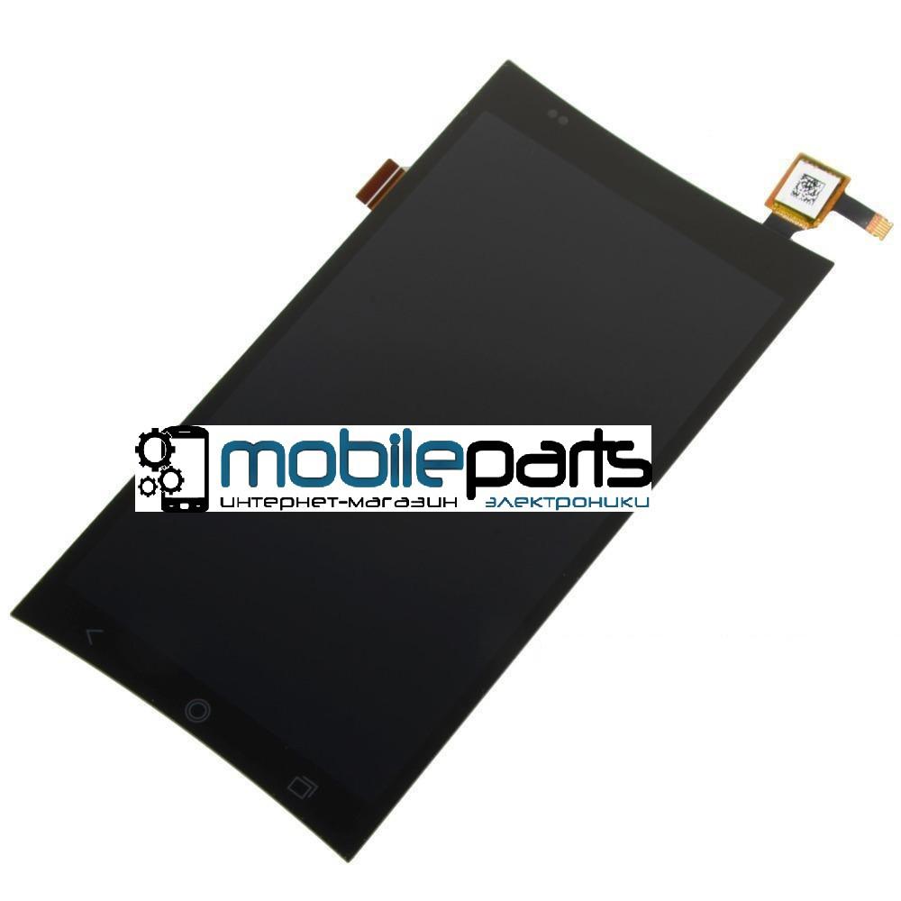 Оригинальный Дисплей (Модуль) + Сенсор (Тачскрин) для Acer Liquid E700 (Черный) + Скотч!