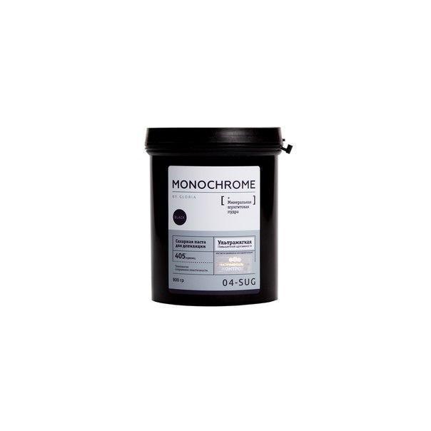 Сахарная паста для шугаринга (ультрамягкая) MONOCHROME by GLORIA 0,8кг