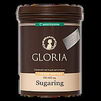 Паста для шугаринга GLORIA с ментолом ультра-мягкая 0,8 кг