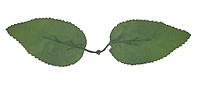 Лист розы двойной А-124 (500 шт. в упаковке)